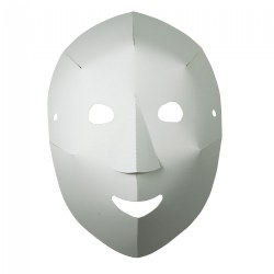 Folding Fun Masks - 40 Count