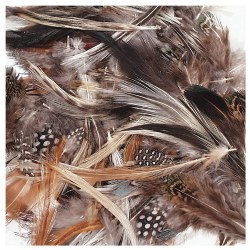 Natural Feathers - 3 oz.