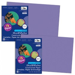 Construction Paper - 50 Sheets - Purple - Qty 2