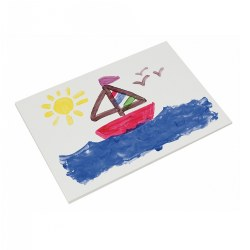 "11"" x 16"" Fingerpaint Paper - 100 Sheets - Qty 3 Packs"