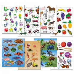 Stickers Variety Pack - 24 Sheets