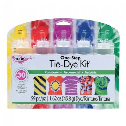 One-Step 5-Color Rainbow Tie-Dye Kit