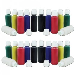 Washable Tempera Daubers 1 oz. - 24 Pieces