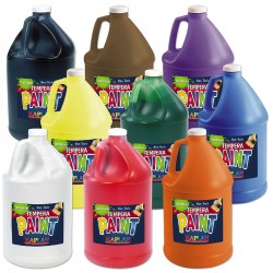 Kaplan Kolors Tempera Gallon - Set of 9