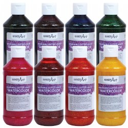 Glitter Watercolor 8 oz. - Set of 8