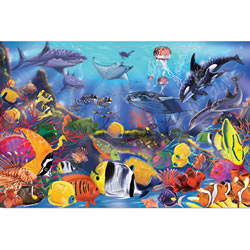 Sea Life Floor Puzzle - 48 Pieces