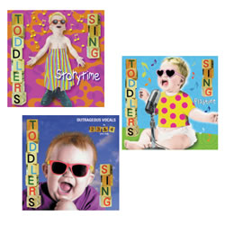 Toddler's Sing Set of 3 CDs