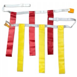 Flag Football Belt for active play - Set of 12