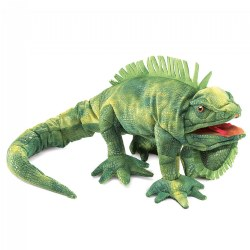 Lana the Iguana Hand Puppet