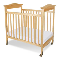 Biltmore™ Fixed-Side Clearview Compact Crib - Natural