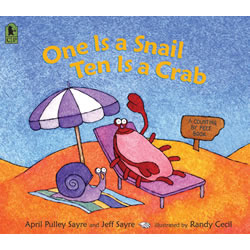 One Is A Snail, Ten Is A Crab: A Counting By Feet Book - Big Book