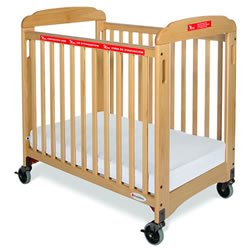 First Responder Fixed Side Evacuation Crib