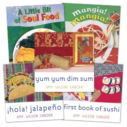 A World of Food Board Books - Set of 5