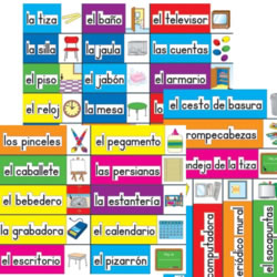 Classroom Labels: Spanish