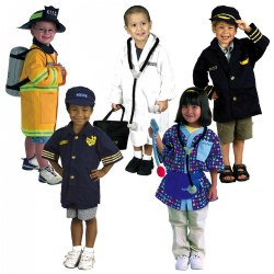 Dramatic Play Costumes - Career Set (Set of 5)