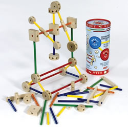 Makit Woodbuilders - 70 pieces