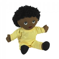 Soft Doll African-American Boy