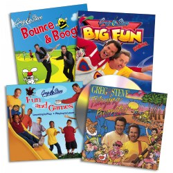 Greg & Steve CD Collection - Set of 4