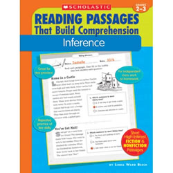 Give students the repeated practice they need to master the reading skill of making inferences, and succeed on tests! Each of the 35 reproducible pages features a high-interest fiction and nonfiction reading passage with bubble-test practice questions that target this essential reading comprehension skill. Flexible and easy to use- in school or at home-the book also includes model lessons, pre- and post-assessments, and an answer key.