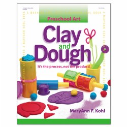 Preschool Art Clay and Dough - Paperback