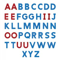 AlphaMagnets Uppercase - 42 pieces