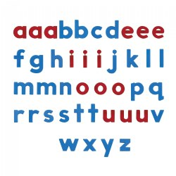 AlphaMagnets Lowercase Class Set (126 pieces)