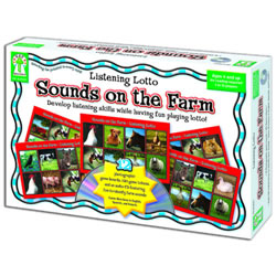 Listening Lotto: Sounds On The Farm