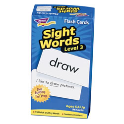 Sight Word Flash Cards Level 3