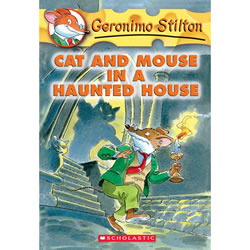 Cat And Mouse In A Haunted House - Paperback