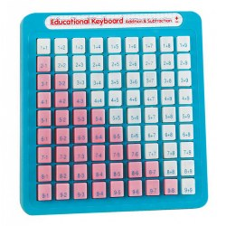 Educational Keyboard Addition & Subtraction