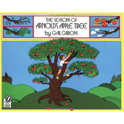 This book about nature and the changing seasons focuses on a young boy and a very special apple tree. As the seasons pass, Arnold enjoys a variety of activities as a result of his apple tree. Includes a recipe for apple pie and a description of how an apple cider press works. Paperback. 32 pages.