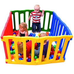 Jolly Kidz™ Magic Panel Playpen