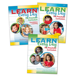 Learn Every Day™ and ProFile Planner Online Set - Preschool