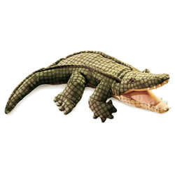 Alligator Plush Hand Puppet