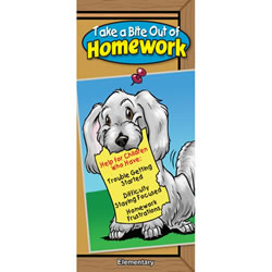 10 Minute Talks: Homework Grades K - 5 Parent Brochure (Set of 25) - English