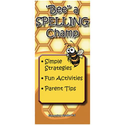 10 Minute Talks: Spelling Grades 1 - 6 Parent Brochure (Set of 25)