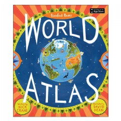 Barefoot Books World Atlas - Hardcover