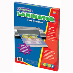 Hot Laminating Pouches 8.5x11 - Package of 100