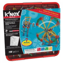 K'NEX® Introduction to Simple Machines: Gears - 7 Model Builds