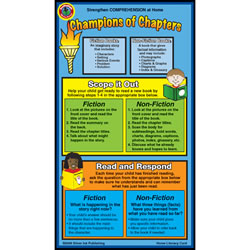 Chapter Books Home Literacy Cards (Pack of 10)