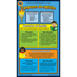 Chapter Books Home Literacy Cards (Pack of 10) - Spanish