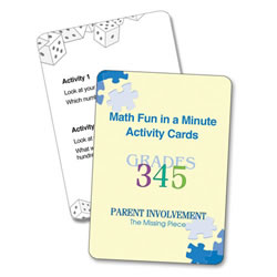Math Home Activity Kit - Spanish Version