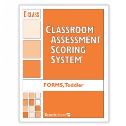 CLASS® Score Sheets, Toddler Forms (Set of 10) - English