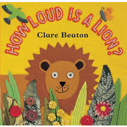 How Loud is a Lion? - Board Book