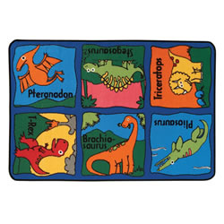 Dino-mite KID$ Value Rug - 3' x 4'6""