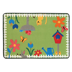 "Garden Time KID$ Value Rug - 3' x 4'6"" - Factory Second"