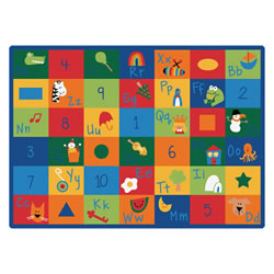 "Image of Learning Blocks Carpet 8'4"" x 11'8"" (Factory Second)"