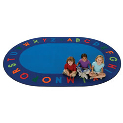 "Alphabet Circletime - 8'3"" x 11'8"" - Oval"