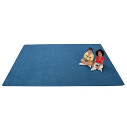 KIDply® Soft Solids Carpet - 6' x 9' Rectangle