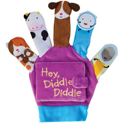 Hey Diddle Diddle Puppet Book